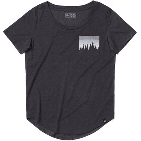 tentree Juniper Pocket T-Shirt Damen meteorite black
